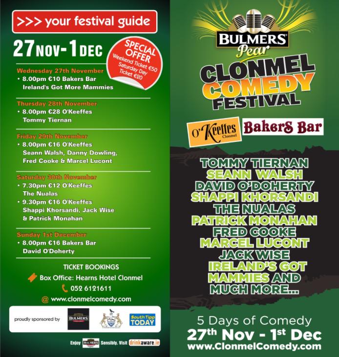 Clonmel Comedy Festival