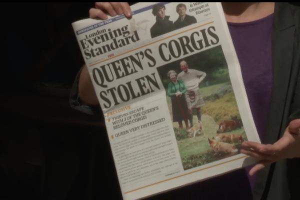 queens corgis stolen