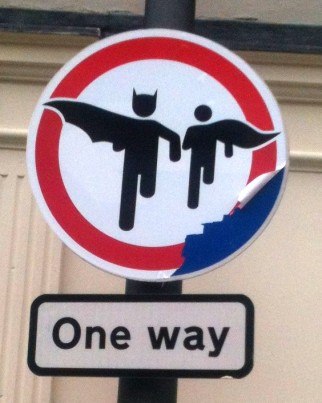 Batman in Ireland