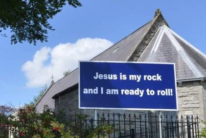 Jesus is my rock